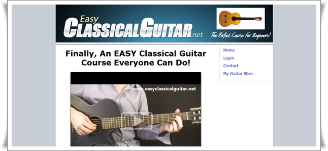 learn classical guitar course