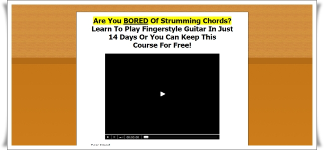 fingerstyle guitar course