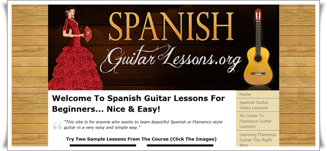 learn spanish guitar