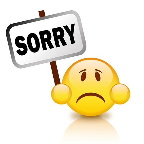 sorry cartoon